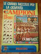 ALBUM FIGURINE PANINI : ' CAMPIONI DELLO SPORT - OLIMPIADI -  1968 - 69   !!!