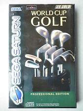 World Cup Golf Jeu Vidéo Sega Saturn