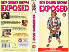 STAND-UP COMEDY VIDEO SLEEVE - ROY CHUBBY BROWN - EXPOSED