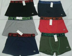 Lacoste Stretch Cotton 3-pack Boxers Trunks underwear