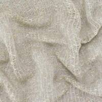 Oyster Beige Woven Boucle Netting Home Decorating Fabric, Fabric By The Yard