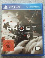 Ghost of Tsushima -- Standard Edition (Sony PlayStation 4, 2020) - WIE NEU!