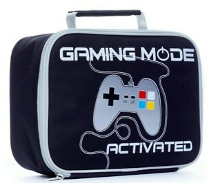 Gaming Mode Activated  Lunch Bag, Kids  Boys Gamer