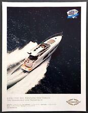 "2017 Sunseeker Predator 57 Yacht photo ""Handling That Thrills"" promo print ad"