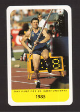 Pierre Quinon Pole Vault Cool Collector Card