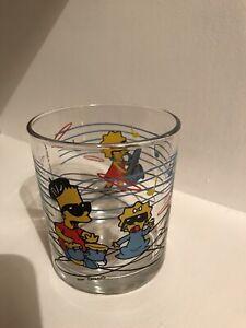 Nutella Simpsons Glass