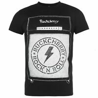Official Buckcherry T Shirt Crew Neck Mens