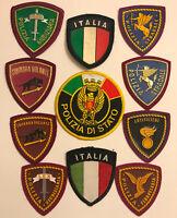 Italy Polizia Giudiziaria Stradale Squadra Artificieri Police 11 PATCH SET