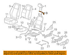 GM OEM Front Seat-Seat Belt Guide 10385983