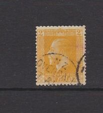 NEW ZEALAND1916 2d Yellow Fine Used CDS OVERDALE (near Canterbury)