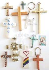 Crucifix Christian Spiritual Jewelry Lot of Religious Crosses