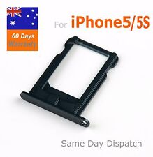 iPhone5 Nano Sim Card Tray Holder Replacement For iPhone5 Black