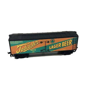HO Custom Lettered Beer Reefer Car Tadcaster Lager Beer Worcester Brewing Co
