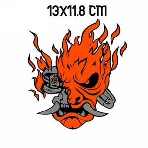 Cyberpunk 2077 Game Samurai logo Vinyl Decal Sticker for Car Laptop Skate board