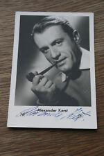 Alexander Kerst,,signierte Autogrammkarte ca 9x14cm  (#A45)