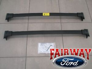 20 thru 22 Explorer OEM Genuine Ford Parts Black Roof Rack Cross Bar Set 2-piece