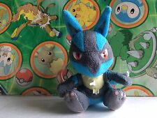 Pokemon Plush Lucario 2005 Doll figure Japan Bandai mini friends stuffed  riolu