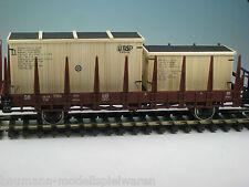 """DUHA 18284 - 2 Transportkisten """"PSP"""" - Handarbeit im Maßstab 1:43 / Spur 0"""