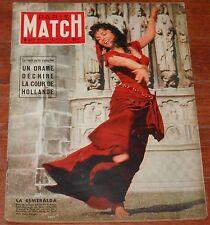 PARIS MATCH #377 1956 Gina Lollobrigida Fernand Léger Marlene Dietrich magazine