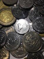 100 Gramm Restmünzen/Umlaufmünzen Georgien