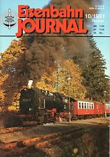 Eisenbahn Journal Heft 10/1991 Ennstal E63 Br 112 IC Dienst TEE SNCF B4