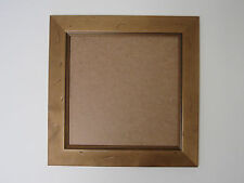 Antique Pine Real Wooden 5x5 Square Photo Picture Frame Hang