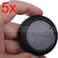 5x Rear Cap Cover for Fuji Fujifilm Micro SLR X-Mount Camera Lens XF 16-55/2.8R
