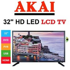 AKAI 32 Inch LED TV HD LCD with DVD Player 2 USB PVR High Definition Television