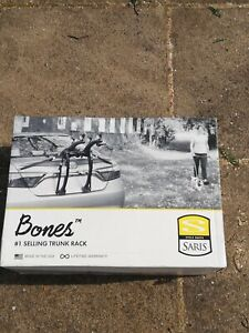 Saris 805BL Bones 2-Bike Car Rack - Black - Brand New