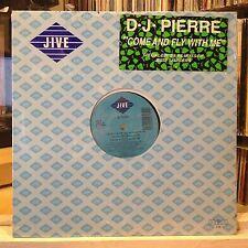 """[EDM]~SEALED 12""""~d.j. PIERRE~Come And Fly With Me~{x4 Mix]~Drive Me In Your Car~"""