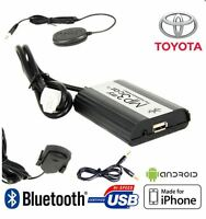 Boitier MP3 USB AUX Bluetooth TOYOTA À PARTIR DE 2004