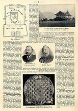 Prunksaltaspiel der Hofjuweliere Gebr.Friedländer im Wert v.120 000 Mark c.1900