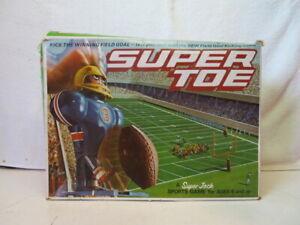Schaper Super Toe Super Jock football game Missing Pieces with Box