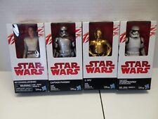 "Disney Hasbro Star Wars Small Figurines LOT OF ""4"""