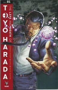 LIFE & DEATH OF TOYO HARADA #1 CVR E 1:250 GLASS MIRROR VARIANT VALIANT   032019