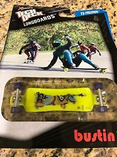 Tech Deck Longboards - Bustin Fingerboard - 120mm Skateboard - NIP Vintage