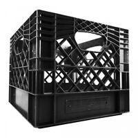 New Color Square Milk Crate 16qt Heavy Duty Plastic