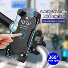 Bicycle Motorcycle MTB Bike Stand Handlebar Silicone Mount Holder For Cell Phone