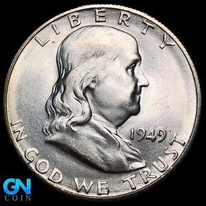 1949 S Franklin Half Dollar  --  MAKE US AN OFFER!  #K7544