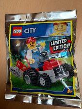 Lego City - Gärtner mit Rasenmäher - Neu Im Polybag