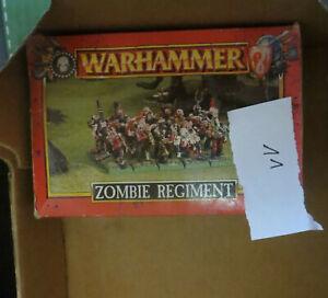 Warhammer Fantasy / Oldhammer - Zombie Regiment - Plastik - unvollständig