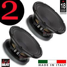 Eighteen Sound 18Sound 10MB600 High Output Midrange Midbass Speakers, PAIR 2 pcs
