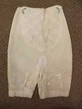Flexnit Vtg 60s NEW High Waist Long Leg Garter Belts Lace Girdle Panties S 25-26