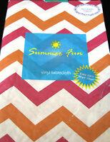 Flannel Backed Vinyl Quot Summer Fun Floral Quot Tablecloths
