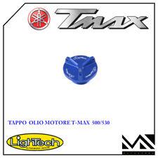 TAPPO OLIO MOTORE BLU IN LIGHTECH PER YAMAHA T MAX TMAX 530 / 500 DAL '01 AL '13