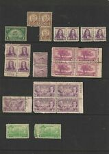 USA - COLLECTION OF 38 UNUSED STAMPS FROM 1924-1937.