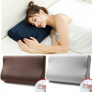 Memory Foam Pillow Sleeping-Cervical Contoured Neck Support Soft Bed Pillows New