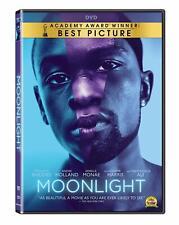 Moonlight: 2017 Trevante Rhodes Janelle Monae (DVD, 2017)  w/Slipcover, NEW