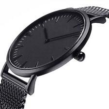 Casual Damen Uhr Kristall Sport Edelstahl Armbanduhr Analog Quarz Wrist Watches