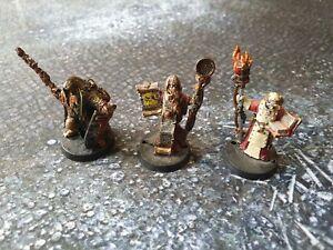 Warhammer 40k inquisitors, metal
